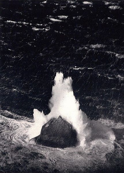 Rockall hit be a big wave.