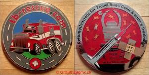 Grisu83 - TB-Rescue Geocoin