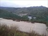 Vista para a barragem