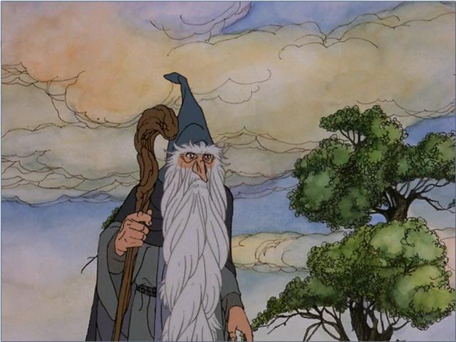 GC4QAWA The Hobbit - Gandalf the Grey (Unknown Cache) in