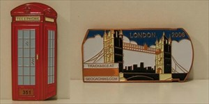 London Geocoin - Telefonjoker
