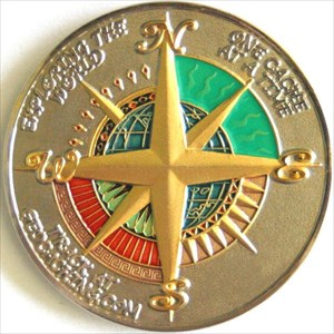 Compass Rose with the 4 Elements