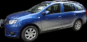 Blå Dacia Logan MCV 2015
