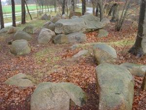 Blick von Süden über die Hünensteine