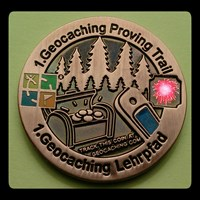 #2 Proving Trail Geocoin- Front