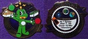 German Reviewer Geocoin 2012 - It's just a Game!