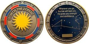 Sign of the Zodiac Geocoin