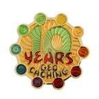 10 Years of Geocaching Geocoin