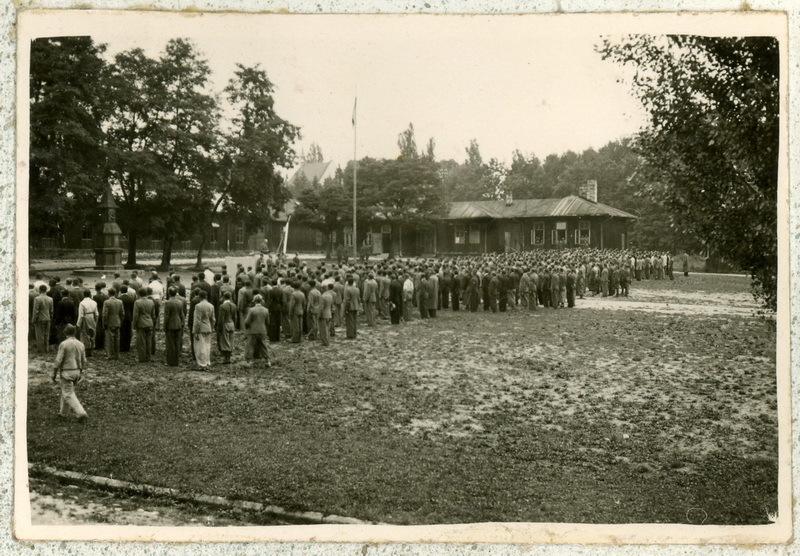 Czechosłowacki obóz wojskowy w Małych Bronowicach pod Krakowem. Kolekcja zdjęć VHÚ.