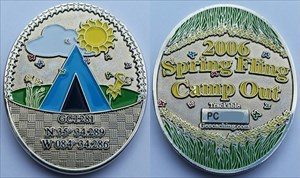 Spring Fling Camp Out Geocoin 2006