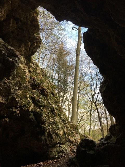 Kremenna jaskyna - okno