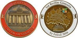 Berlin 2006 Geocoin