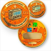 17000 Finds Geo-Achievement Geocoin