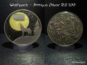 Wolfpack - Antique Silver RE 100