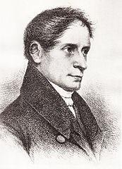 Radierung: Joseph von Eichendorff
