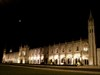 Jerónimos à noite log image