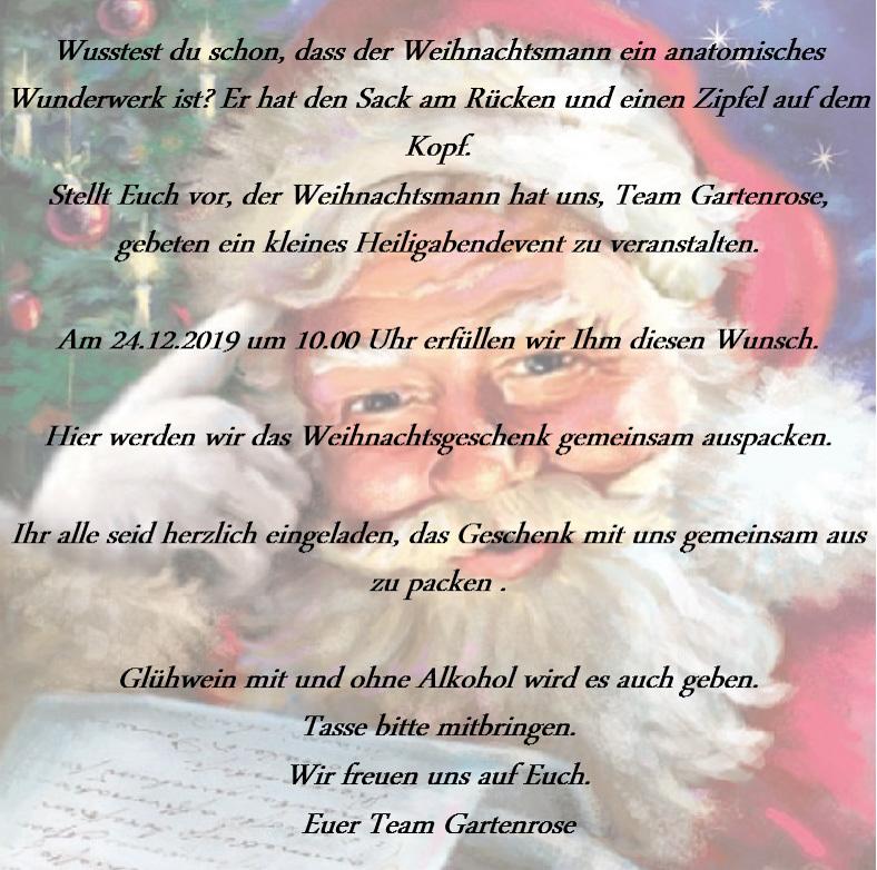 Gc8gtzr Heiligabendevent Event Cache In Mecklenburg