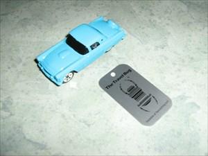 Blue Thunder Bird race car