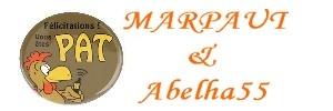 PAT MArpeau et Abelha55