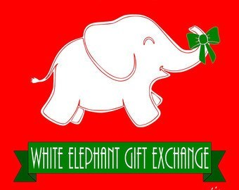 Gc7f17b full moon rising 86 white elephant gift exchange event elephant negle Gallery
