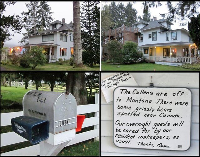 Gc6t2gc Vampire Family Home Opg Traditional Cache In Washington United States Created By Olympic Peninsula Geotour