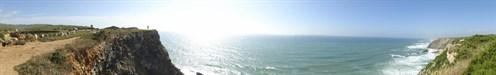 Vista do Atlântico...