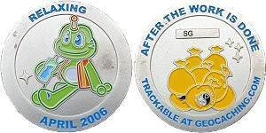 Signal Geocoin - Apr 06