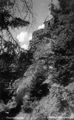 Die erste Rachelkapelle, 1929 / První kaple, 1929