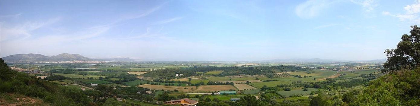 Vista des del Puig de Font Pascuala