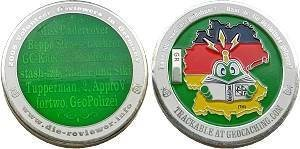 2008 German Reviewer (only) Geocoin