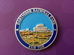 Dartmoor Race coin