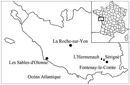 Les meules - situation géographique (pour les touristes)