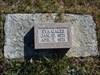 A sad headstone