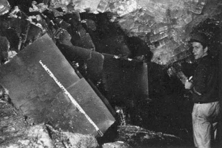 Salzkristalle / salt crystals