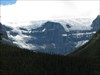 View of one of the glaciers on the way home