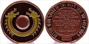 """Viking Dragon Shield - """"Helheim"""""""