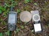 GPSr and compass with the cap
