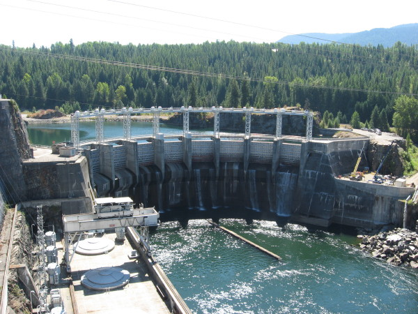 History: The Cabinet Gorge Dam Was Built By Morrison Knudsen Corporation, A  Worldwide Construction Firm Headquartered In Boise, Idaho.