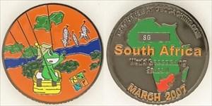 """Signal Geocoin - #15 - Mar 07 - """"South Africa"""""""