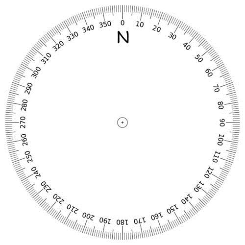 Terrible image intended for small printable protractor