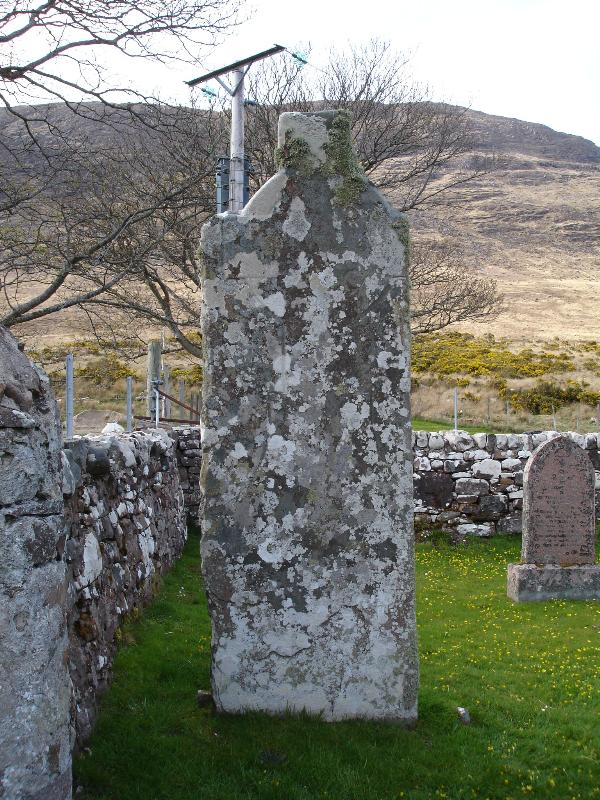 A cross across from Applecross