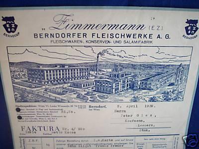 Berndorfer Fleischwerke A.G.