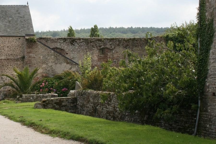 Ruines de la commanderie