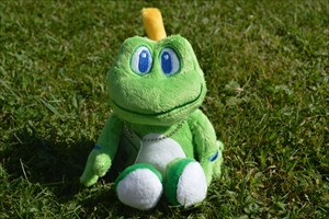 """Liesl"" the frog"