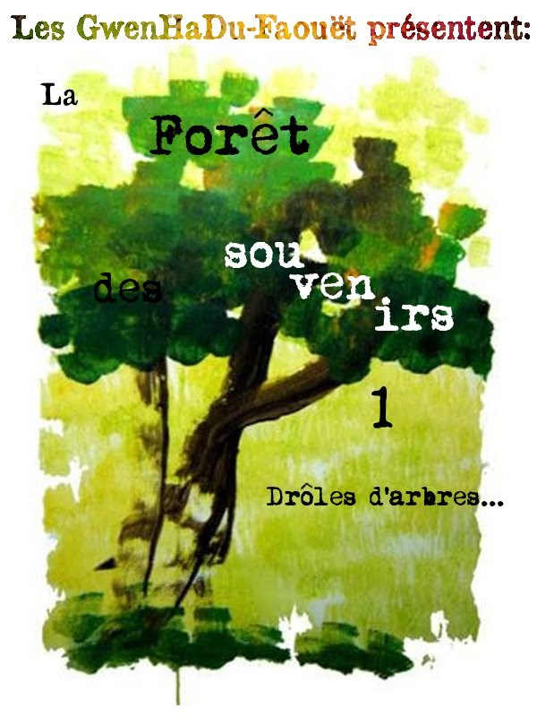 Favori GC3PEEB La Forêt des souvenirs-1-Drôles d'arbres (Multi-cache) in  KQ73