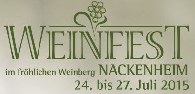 Weinfest Nackenheim 2015
