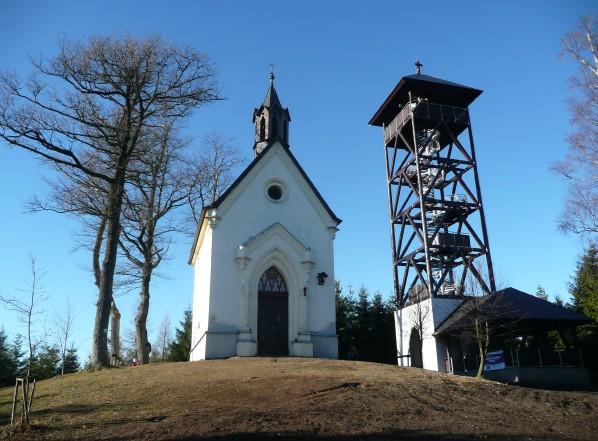 Kaple sv. Markéty arozhledna