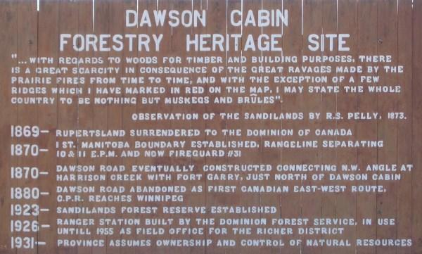 Gc12jah Dawson Cabin Traditional Cache In Manitoba