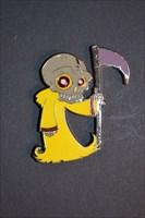 The Grim Reaper Geocoin  Skull