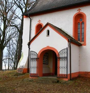 Předsíň kostela